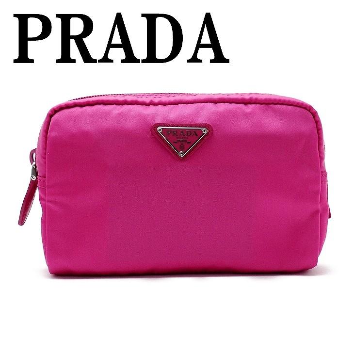 プラダ PRADA ポーチ コスメポーチ 化粧ポーチ 小物 ロゴ 1NA021-2BQP-F0029 ブランド 人気
