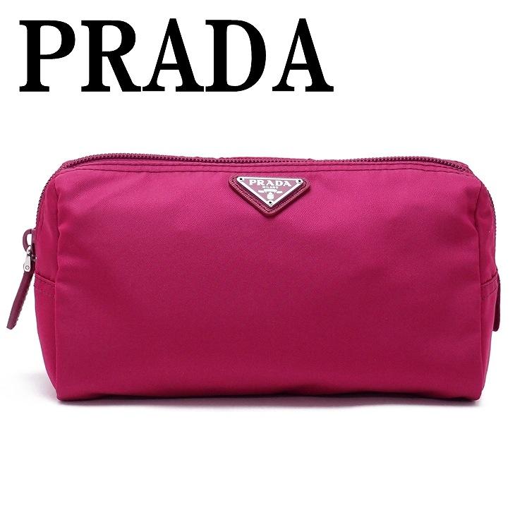 プラダ PRADA ポーチ コスメポーチ 化粧ポーチ 小物 ロゴ 1NA693-2BQP-F0BA8 ブランド 人気