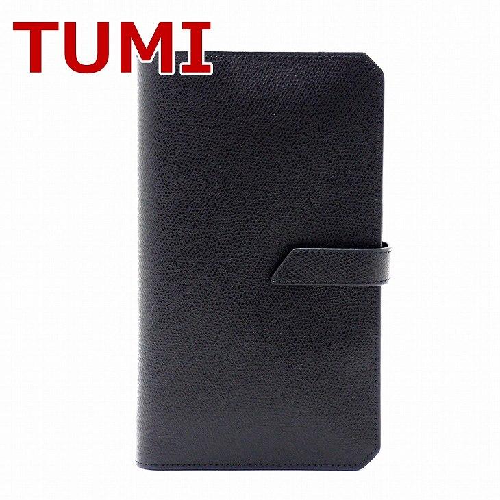 TUMI トゥミ パスポートケース 長財布 ブラック 黒 TUMI-011873D ブランド 人気 誕生日 プレゼント ギフト