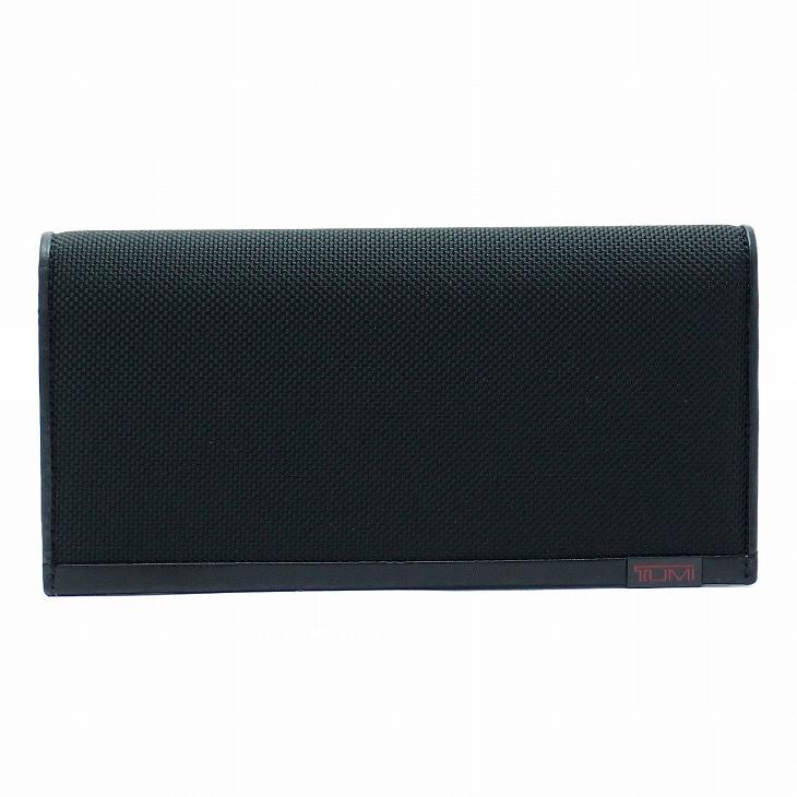 TUMI 財布 メンズ 長財布 アルファ 黒 TUMI-019243D ブランド 人気