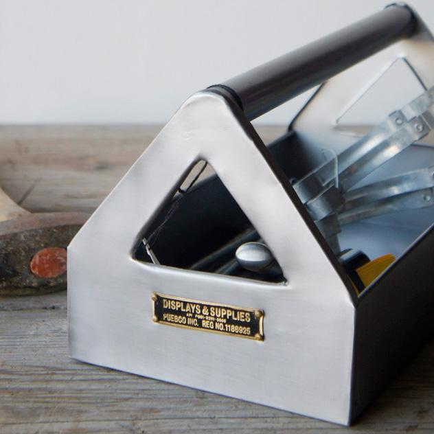 STEEL TOOL ORGANIZER 気質アップ スチール ツール オーガナイザーPUEBCO プエブコ 小物入れ 工具箱 ケース 毎日激安特売で 営業中です 工具