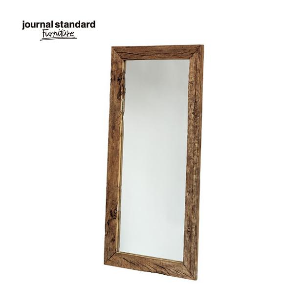 journal standard Furniture ジャーナルスタンダードファニチャー BREDA MIRROR ブレダ ミラー 80×170cm 鏡 木製 什器 おしゃれ 店舗 古材 ショップ カフェ 事務所 アパレル 送料無料