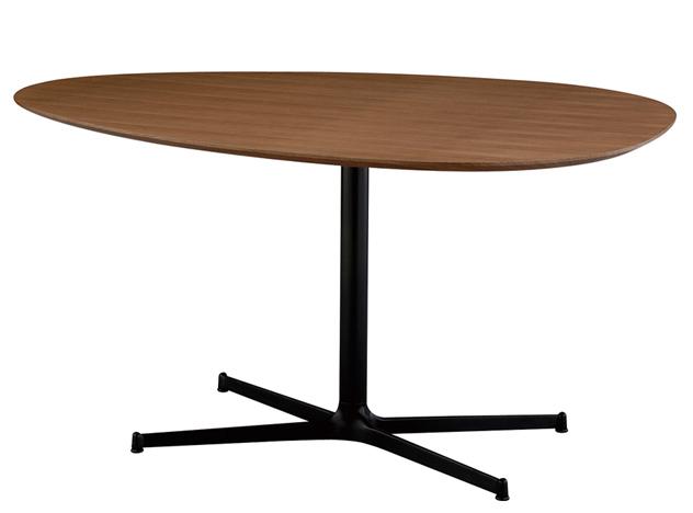 EGG Dining Table Walnut エッグ ダイニングテーブル ウォールナット / SWITCH/スウィッチ wood 木 テーブル