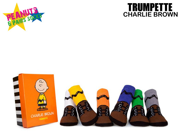 1a79e5898e CHARLIE BROWN and Charlie Brown PEANUTS TRUMPETTE (trumpet) baby socks 0-12  months Baby Kids socks 6 feet gift set socks baby Snoopy character