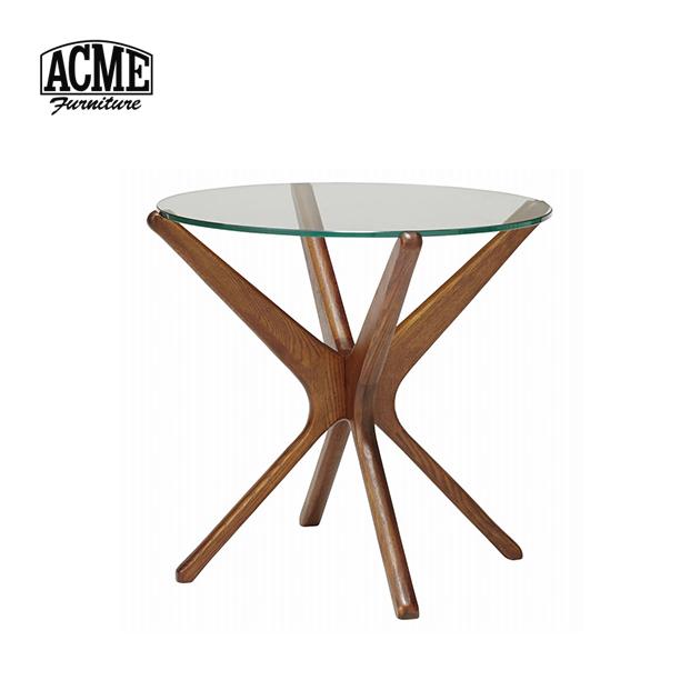 ACME Furniture アクメファニチャー TRESTLES SIDE TABLE トラッセル サイドテーブル 直径50cm