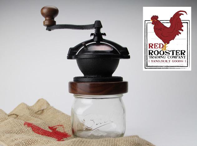 CAMANO COFFEE MILL / カマノコーヒーミル RED ROOSTER TRADING COMPANY / ハンドメイド ミル コーヒー ミル MADE IN USA detail