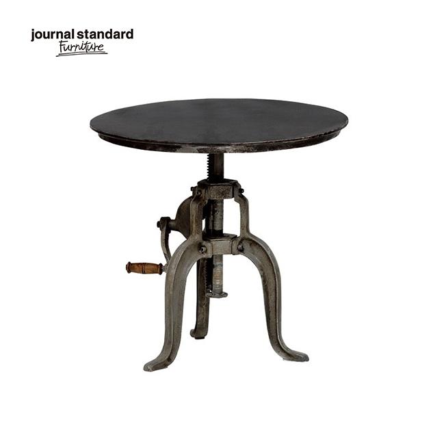 journal standard Furniture ジャーナルスタンダードファニチャー GUIDEL ATELIER TABLE ギデル アトリエテーブル 直径75cm 鉄製 アイアン 什器 おしゃれ 収納 店舗 ショップ 事務所 アパレル 送料無料