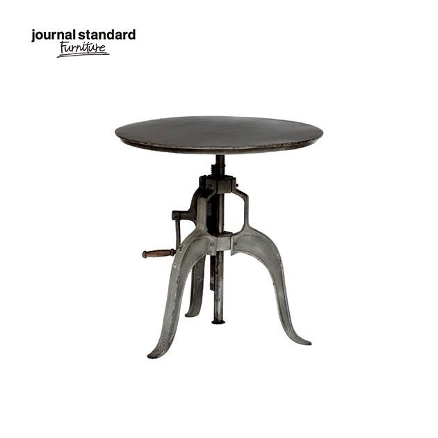 journal standard Furniture ジャーナルスタンダードファニチャー GUIDEL ATELIER TABLE S ギデル アトリエテーブル スモール 直径60cm 鉄製 アイアン 什器 おしゃれ 収納 店舗 ショップ 事務所 アパレル 送料無料