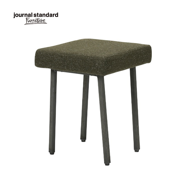 journal standard Furniture ジャーナルスタンダードファニチャー REGENT STOOL KH リージェント スツール カーキ 椅子 木製 布地 ナチュラル おしゃれ カフェ 北欧 ミッドセンチュリー 送料無料