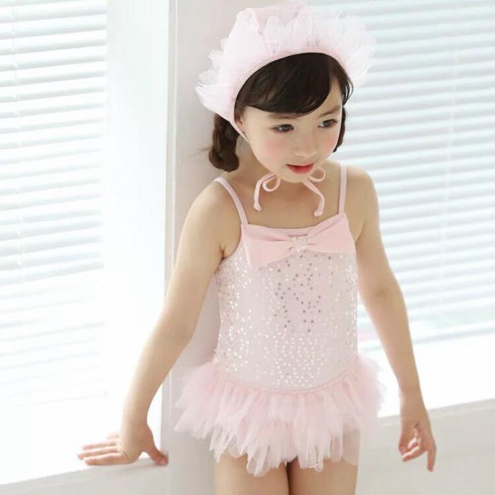f131ca966eb8f  新作 子供水着プール可愛い女の子ベビードレス水着809095100110120130