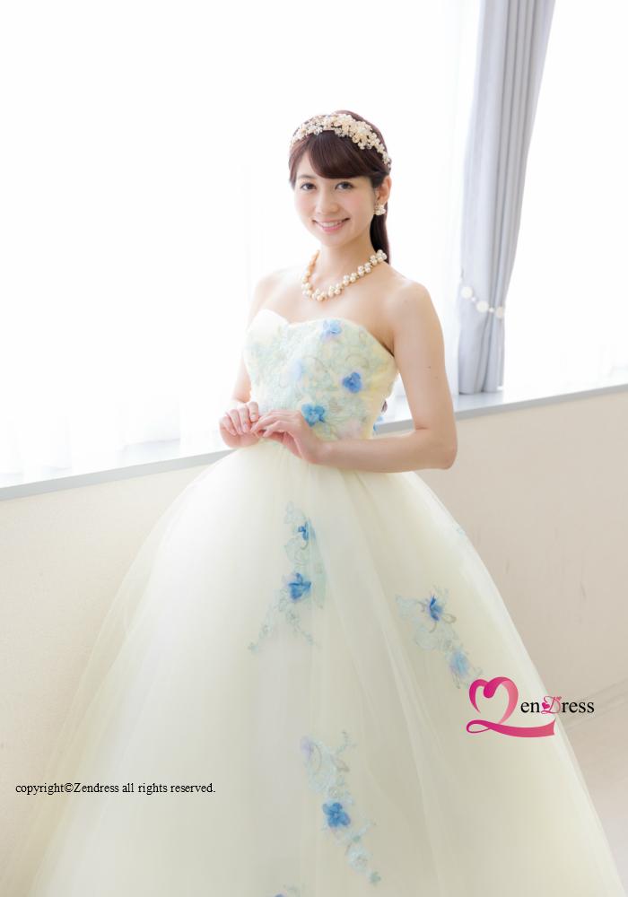 【新作】ウエディングドレス_花嫁ドレス_カラードレス_パーティードレス_二次会ドレス