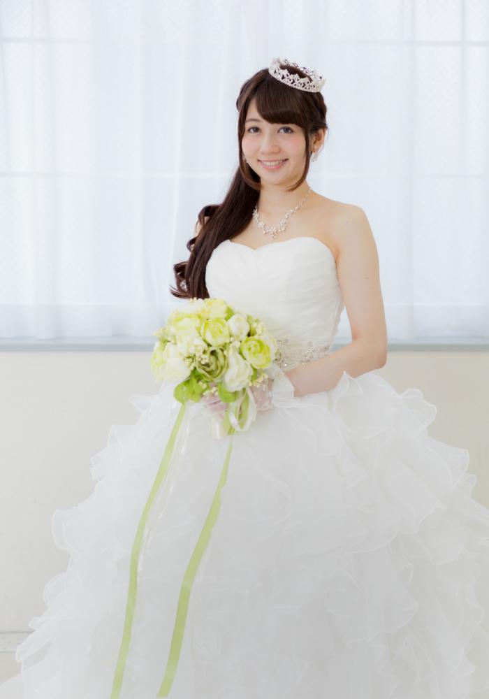 【新作】ウエディングドレス_花嫁ドレス_パーティードレス_二次会ドレス