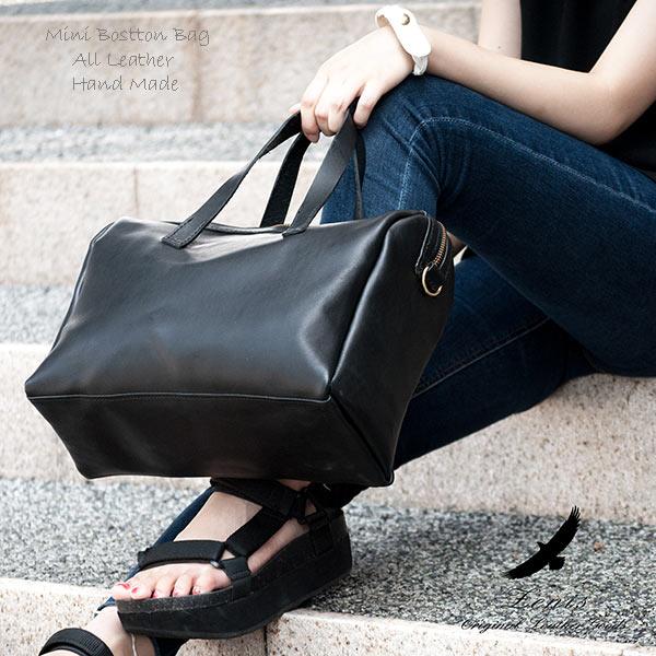 ボストンバック レディース 本革 レザー 革 メンズ ミニボストンバック 旅行鞄 Zenis ゼニス B-0143【送料無料】