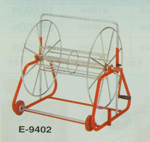 ロープリールロープの収納・持運びに便利E-9402