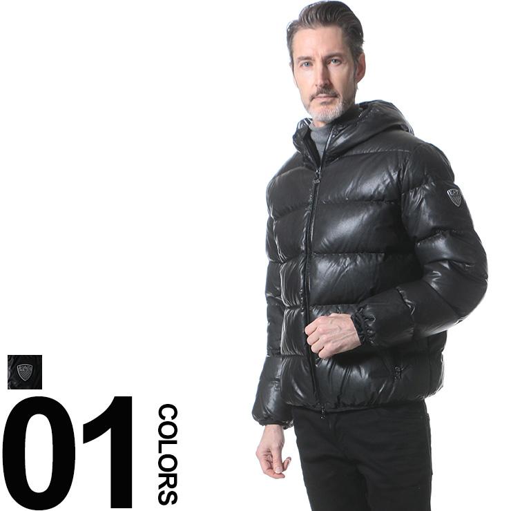 エンポリオ アルマーニ EMPORIO ARMANI EA7 ダウンブルゾン 袖ロゴ フード付き フルジップ ブランド メンズ 男性 カジュアル アウター シンプル フードブルゾン EA6XPB10PN07Z