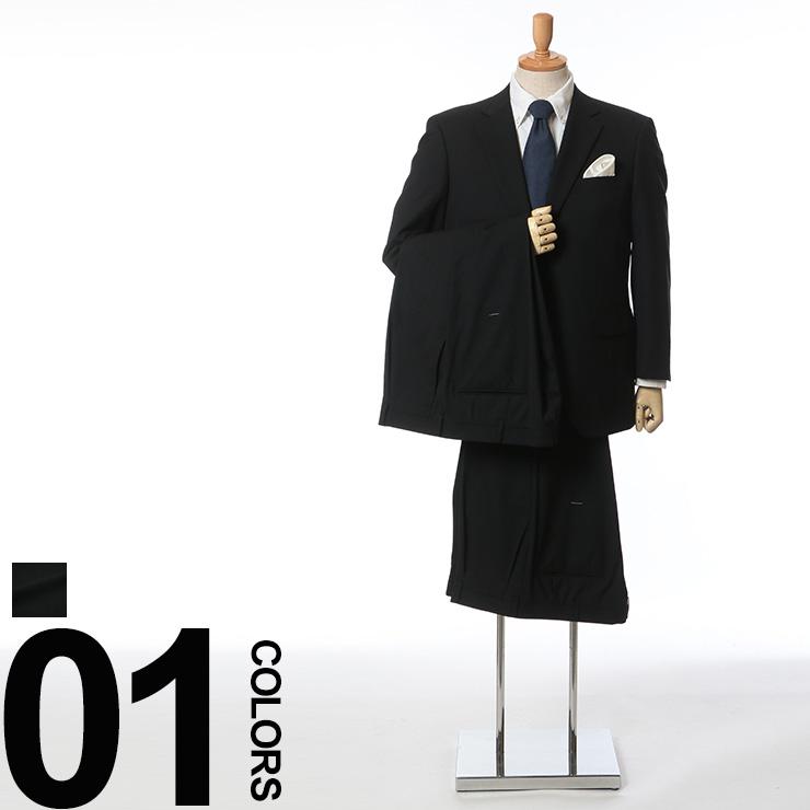 大きいサイズ メンズ B&T CLUB (ビーアンドティークラブ) オールシーズン シャドーストライプ シングル 2ツ釦 ウォッシャブル ワンタック 2パンツ スーツ ビジネス フォーマル ツーパンツ 伸縮性 ストレッチ パンツウォッシャブル ウール混