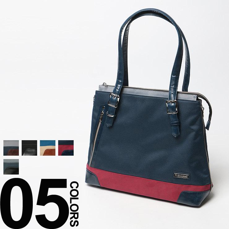 PRO-SPERITY (プロスペリティ) ロゴプレート ジップオープン トートバッグ ESPRIT メンズ レディース ユニセックス 鞄 バッグ トート ジップ ギフト プレゼント