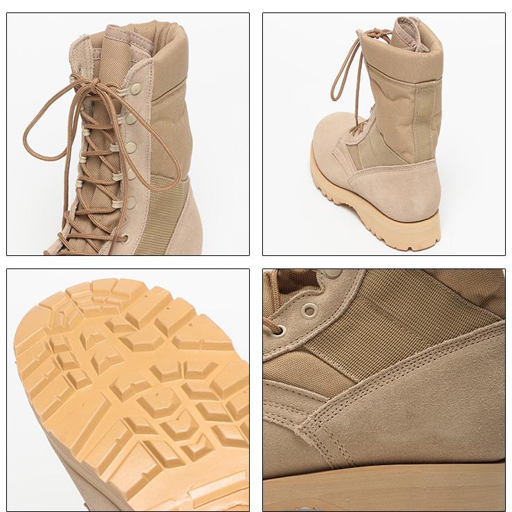 ROTHCO (ロスコ) スエードレザー レースアップ ブーツ メンズ カジュアル 男性 メンズファッション 靴 デザート タン