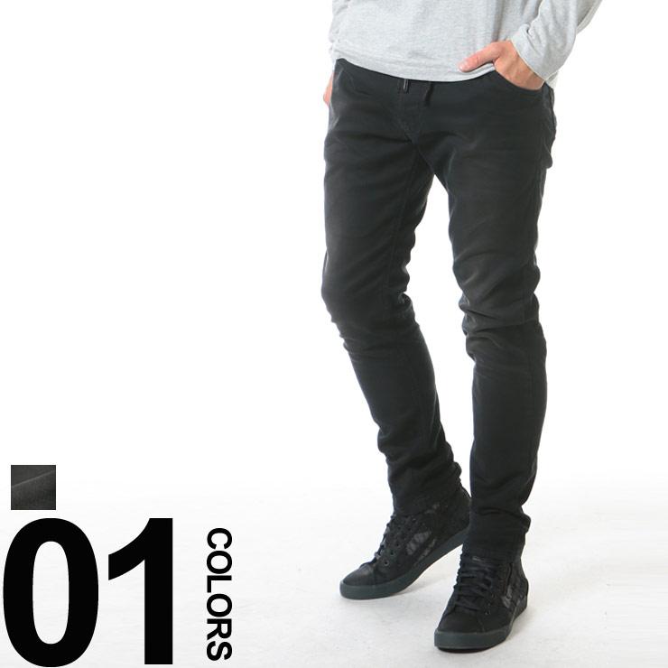 ディーゼル DIESEL ジップフライ ウエストコード 5P ジーンズ ジョグジーンズ Jogg Jeans KROOLEY-NE ブランド メンズ 男性 ボトムス パンツ ジーパン スウェットジーンズ 【DSKROOLEY670M】 【dl】brand
