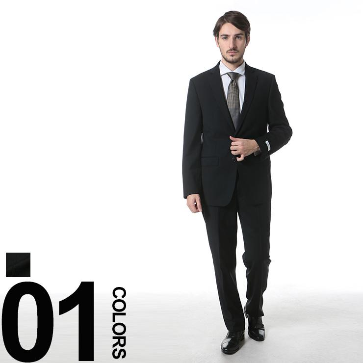 カルバンクライン Calvin Klein CK ウール100% シャドーストライプ シングル 2ツ釦 ノータック スーツ ブランド メンズ 男性 紳士 ビジネス シングルスーツ ノータックスラックス ウール CKMABRY5FY0596 【dl】brand