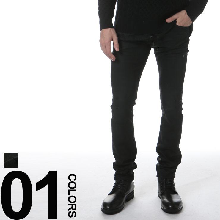 ディーゼル DIESEL ダメージ加工 ジップフライ ウエストコード ジーンズ Jogg Jeans THAVAR SP-NE ブランド メンズ 男性 ボトムス パンツ ジーパン デニム 【DSTHAVARSPNE855】 【dl】brand