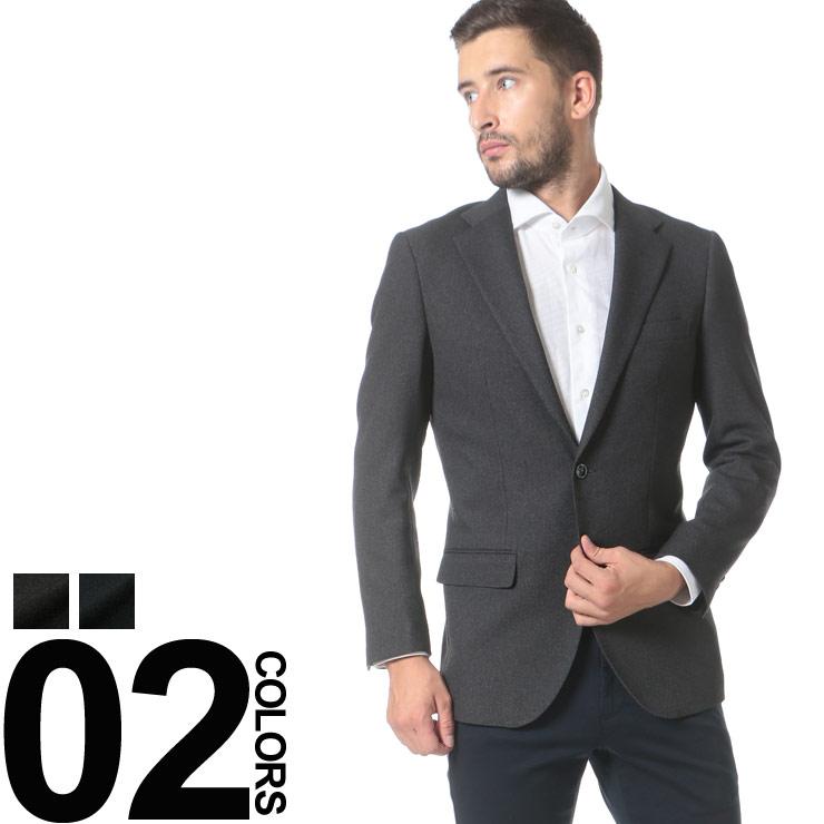 HYBRIDBIZ (ハイブリッドビズ) HYBRIDBIZ TRAVELER 無地 シングル 2ツ釦 ジャケット メンズ 紳士 男性 ビジネス アウター シングルジャケット シンプル