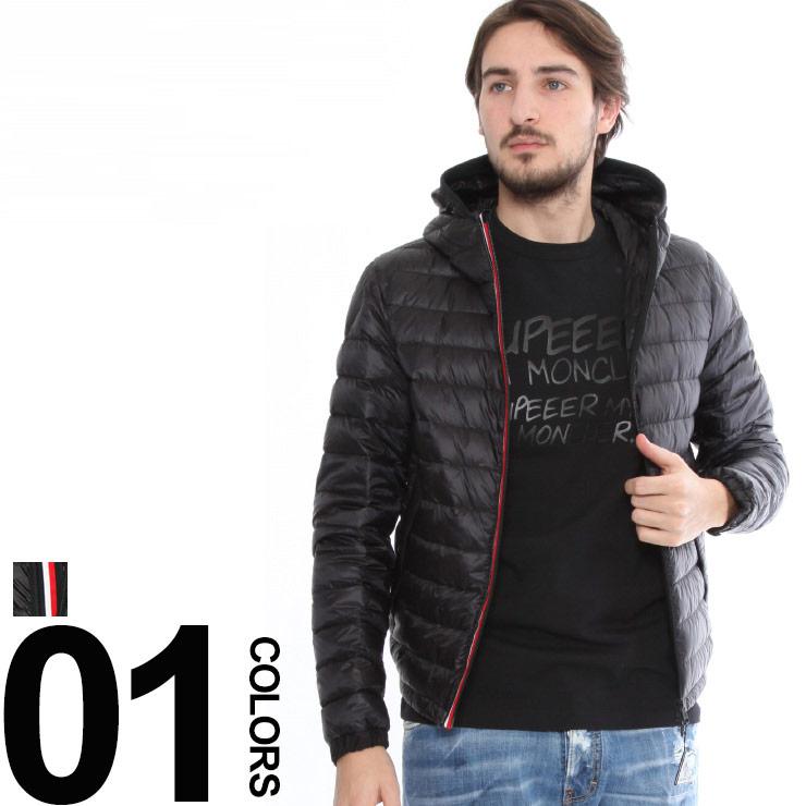 モンクレール MONCLER ライトダウンジャケット パーカー フード MORVAN モルヴァン ブランド メンズ ブルゾン ライトアウター MCMORVAN8