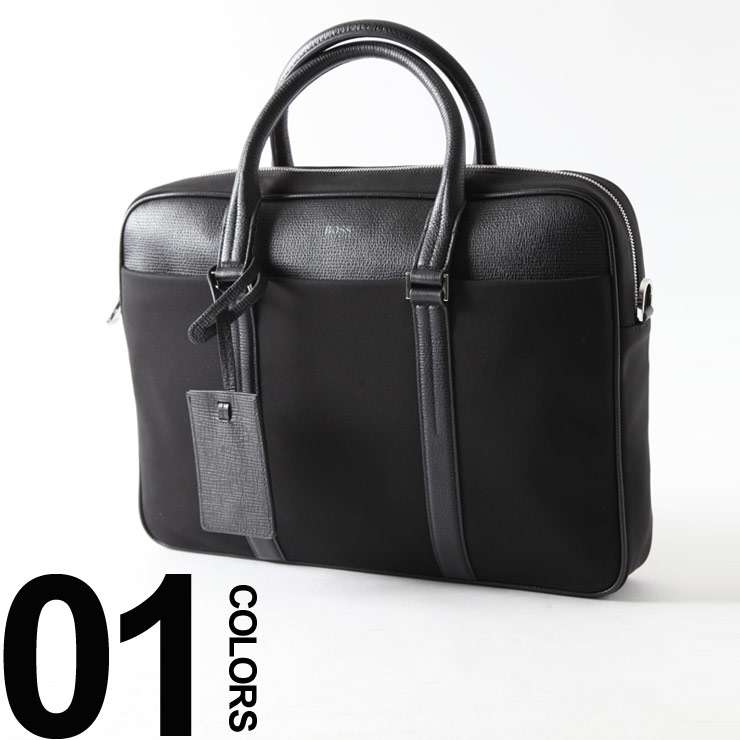ヒューゴボス HUGO BOSS ブリーフケース 2WAY 本革 レザー ブリーフ ショルダーバッグ ブランド メンズ ビジネス HB10194101S