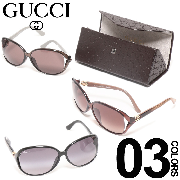 グッチ GUCCI サングラス GGマーク バタフライフレーム ロゴテンプル ブランド レディース アイウェア 眼鏡 アジアンフィット GC3792F