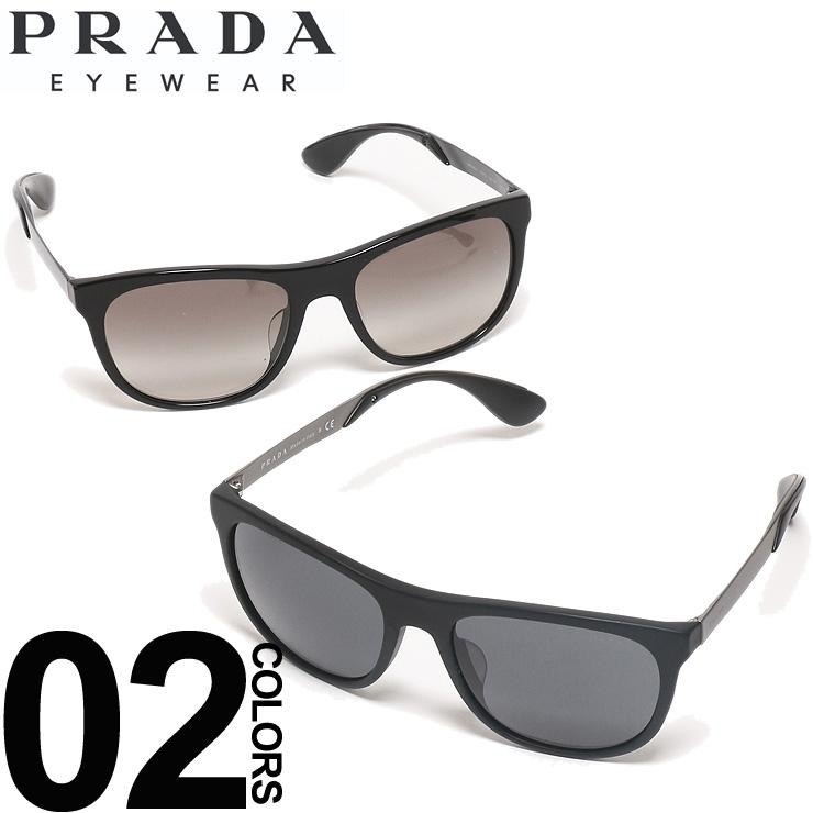 プラダ PRADA サングラス ロゴ ウエリントンフレーム ブランド メンズ 眼鏡 アイウェア PR04SSF