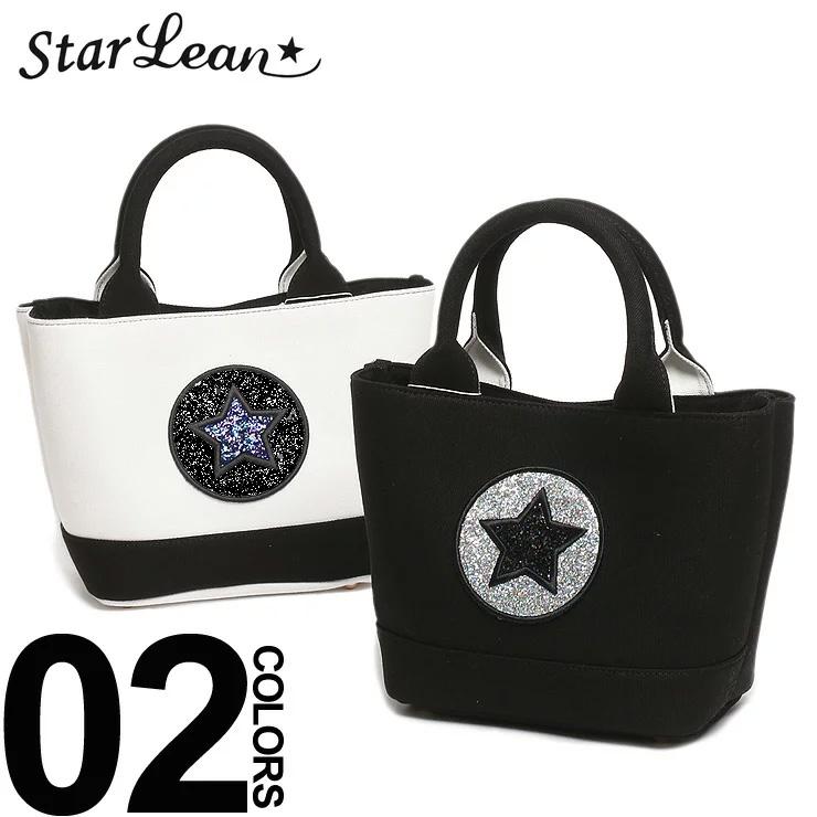 スターリアン StarLean ミニトートバッグ ラメスター キャンバス ブランド メンズ レディース ファッション バッグ トート ラメ 刺繍 SESLTTB007