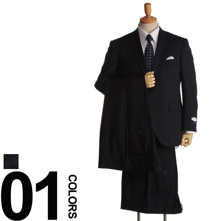 大きいサイズ メンズ Nature Code (ネイチャーコード) オールシーズン対応 ウール混 シングル 2ツ釦 ワンタック 2パンツ スーツ [KB体 KBE体]