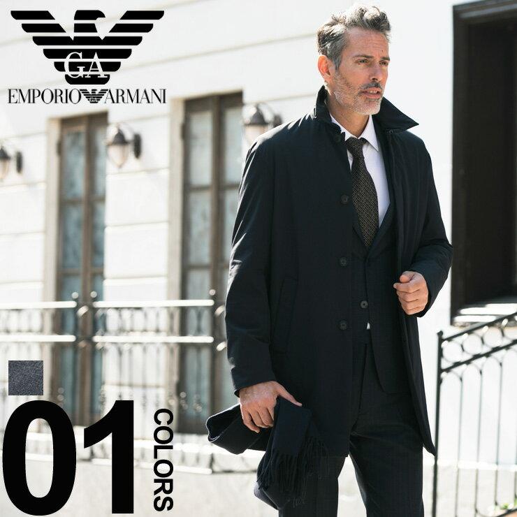 エンポリオ アルマーニ EMPORIO ARMANI コート ナイロン 中綿 ステンカラー ブランド メンズ アウター ビジネス EA6Z1L731NWFZ 【newyear_d19】