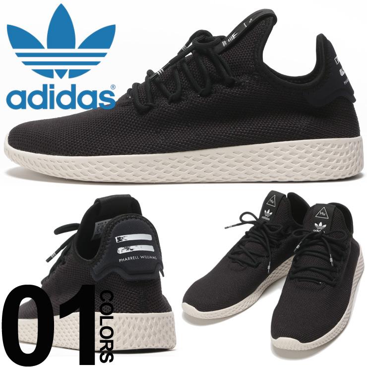 アディダス オリジナルス adidas originals スニーカー ファレル ウィリアムス ニットアッパー PW TENNIS HU ブランド メンズ 靴 シューズ ADAQ1056 【endsale_18】