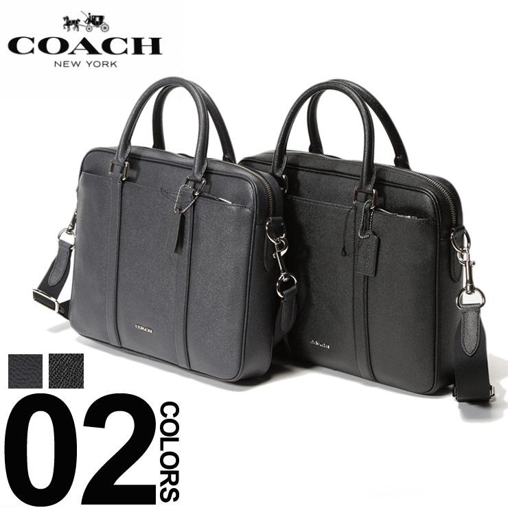 コーチ COACH ブリーフケース 2WAY レザー ロゴ ブリーフバッグ ブランド メンズ ビジネス 鞄 バッグ ショルダー ビジネス COF59056