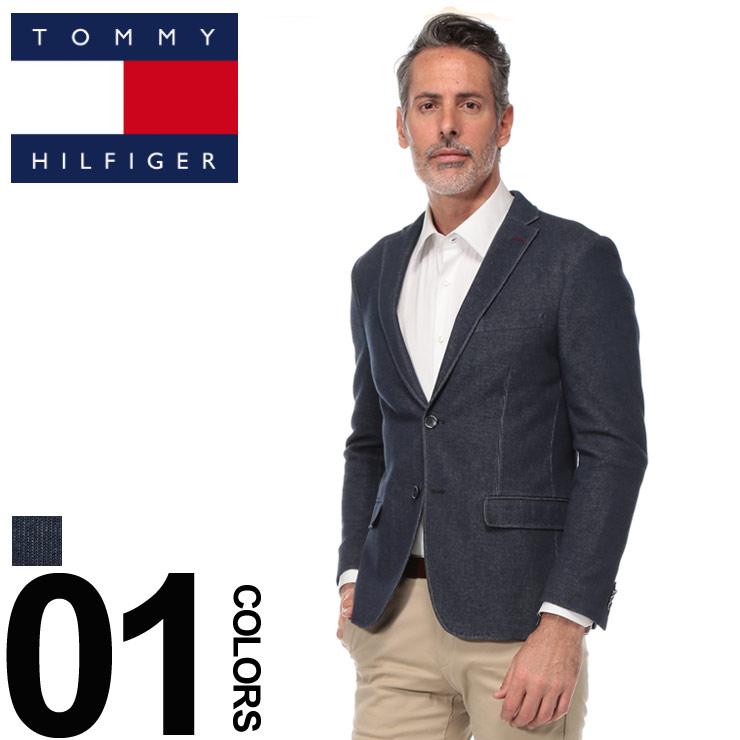 トミーヒルフィガー TOMMY HILFIGER ジャケット シングル 2ツ釦 2B SLIM FIT ブランド メンズ ニット TMSPENCEAUG0003