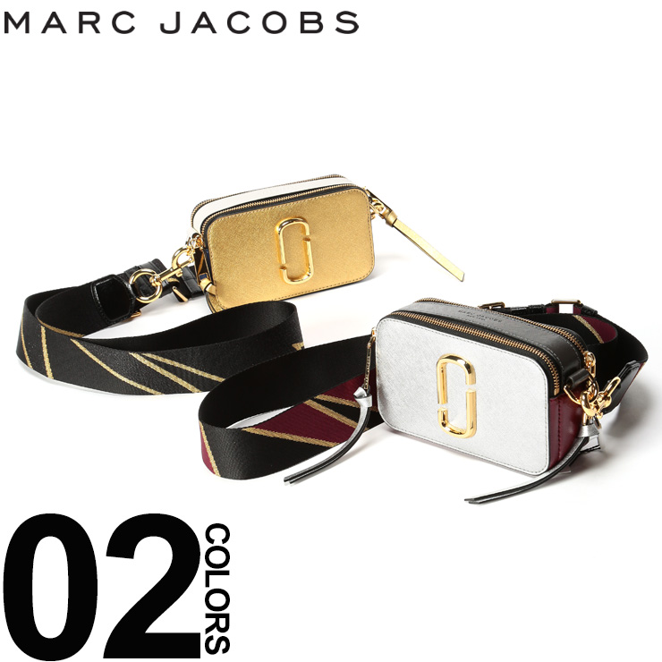 マーク ジェイコブス MARC JACOBS ショルダーバッグ ダブルJロゴ スナップショット バッグ ブランド レディース レザー メタリック ミニ 鞄 MJLM0012007