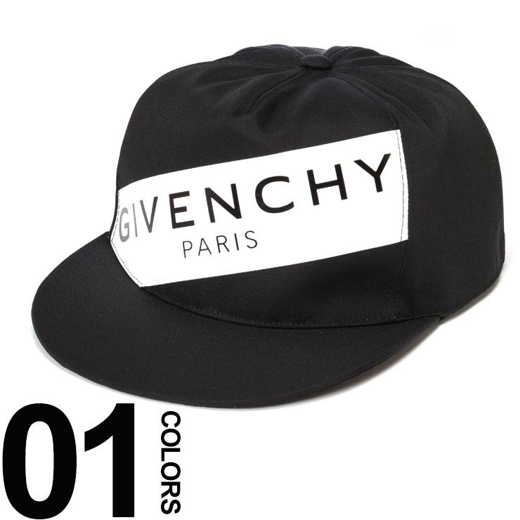 ジバンシィ GIVENCHY ジバンシー キャップ ロゴ ラバーバンド スナップバック ブランド メンズ 帽子 GVBPZ001P01J
