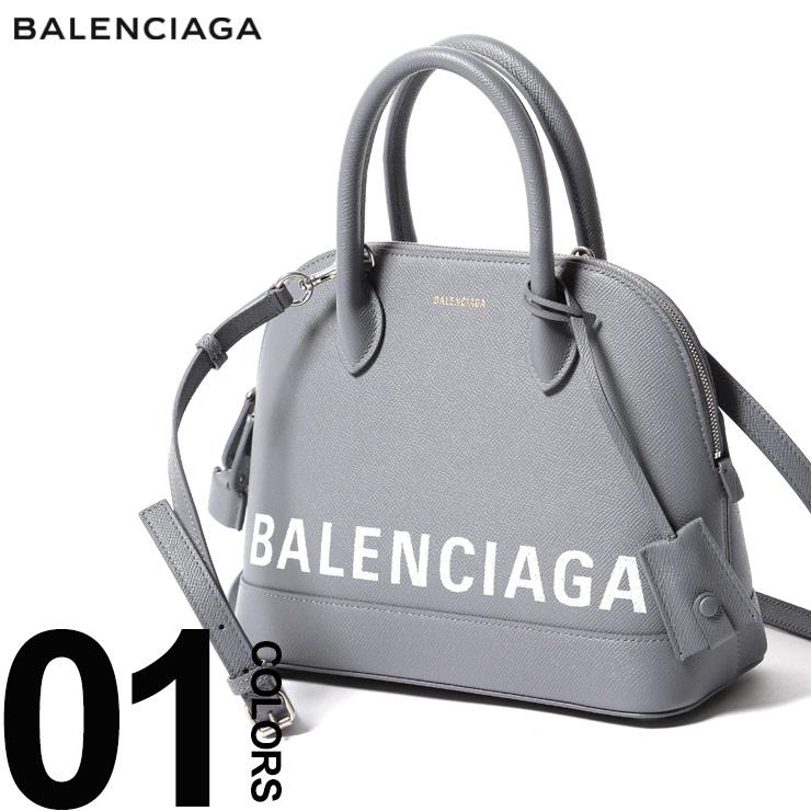 バレンシアガ BALENCIAGA バッグ 2WAY レザー ロゴ ハンドバッグ ショルダー VILLE TOP HANDLE ビルトップハンドル ブランド レディース 鞄 BCL5506450OTD3