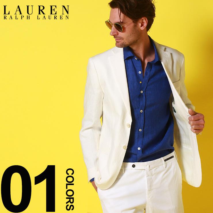 ローレン ラルフローレン LAUREN RALPH LAUREN 麻ジャケット 麻100% リネン シングル 2つ釦 2B ジャケット ULTRA FLEX ブランド メンズ テーラード RL2BX0221