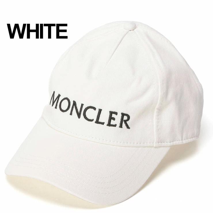 モンクレール MONCLER キャップ ロゴ 刺繍 コットン ブランド メンズ レディース 帽子 MCL0091750V0006