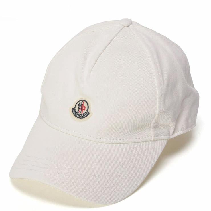 モンクレール MONCLER キャップ ロゴ ワッペン コットン ブランド メンズ レディース 帽子 MCL0092750V0006