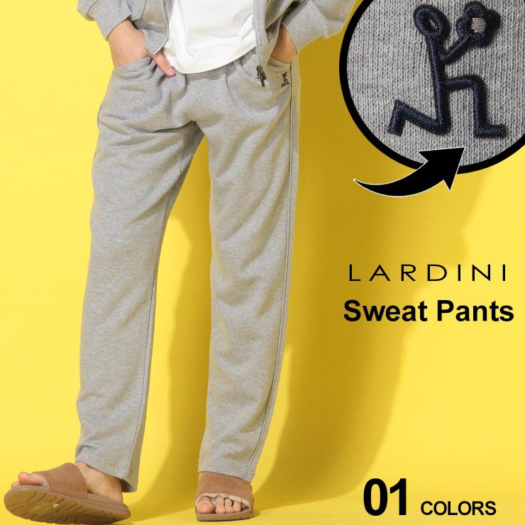 5%OFF LARDINI ラルディーニ メンズ 数量限定 ボトムス スエット スウェットパンツ ロゴ ドローコード イージーパンツ ブランド コットン LDEGPJ4EG52056 SALE_3_a