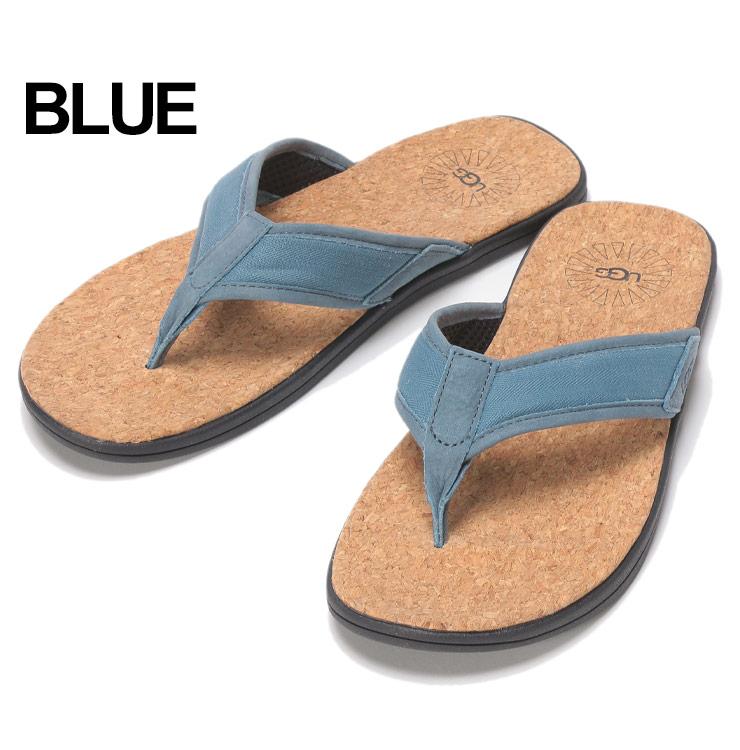 super quality new design big discount アグオーストラリア UGG Australia sandals cork tong sandals SEASIDE FLIP BLUE brand  men beach sandal UGG1099749