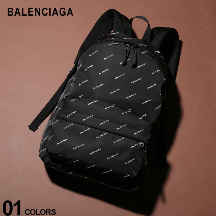 バレンシアガ BALENCIAGA バックパック ナイロン 総柄 ロゴ リュックサック ブランド メンズ レディース バッグ 鞄 デイパック BC5032219EL55 SALE_5_a
