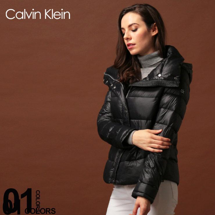カルバンクライン ダウン レディース Calvin Klein CK ダウンジャケット ナイロン パーカー フード ブルゾン ブランド アウター CKLCW912942