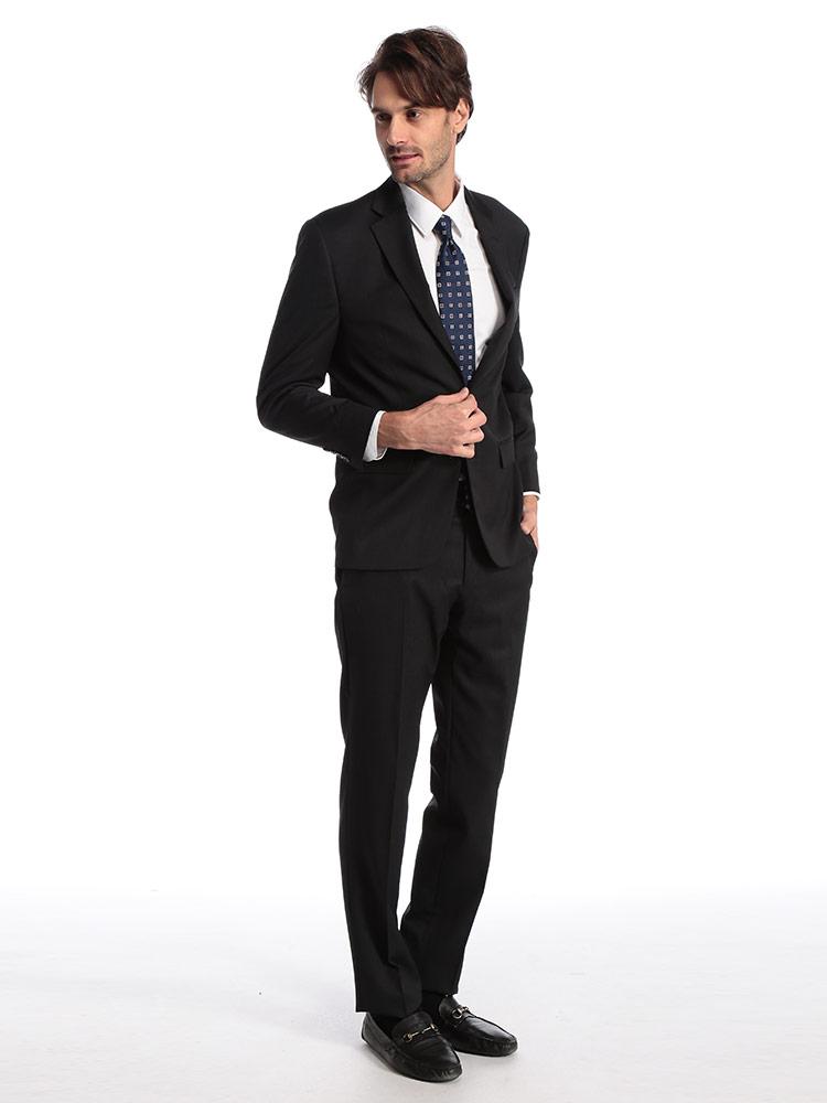 ローレン ラルフローレン メンズ スーツ LAUREN RALPH LAUREN ウール マイクロチェック シングル 2ツ釦 2B ULTRA FLEX ブランド ビジネス ノータック RLLETO1EZ0139