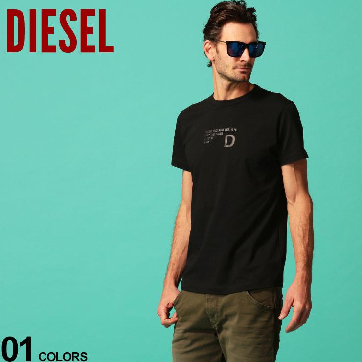 DIESEL ディーゼル ファクトリーアウトレット メンズ ブランド買うならブランドオフ Tシャツ プリント 半袖 プリントT トップス ブランド バックプリント DSSEEAPATI クルーネック