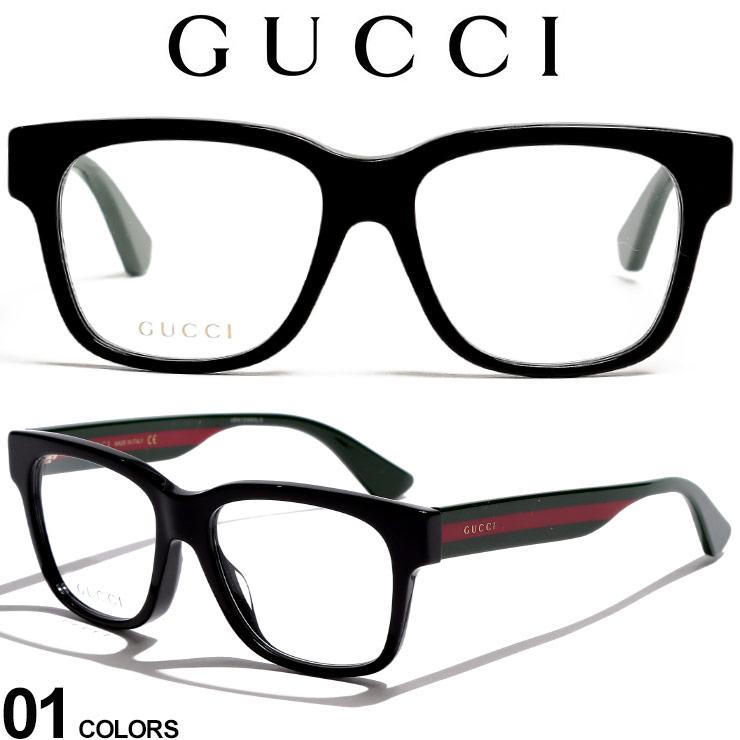 グッチ メガネフレーム GUCCI ウェビングライン ロゴ ウェリントンフレーム アイウェア ブランド メンズ 眼鏡 伊達メガネ GC0342OA001 SALE_6_c