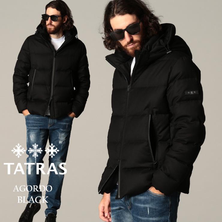 アゴルド ウール TATRAS メンズ アウター タトラス ブルゾン TRMTKE20A4148 フード 黒 パーカー ブランド SALE_2_a ダウンジャケット AGORDO